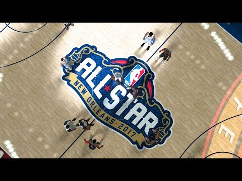 NBA 2k18 All Star Game EAST Vs WEST Best Plays Gameplay