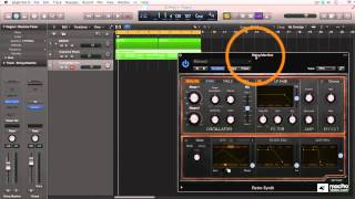Logic Pro X 404: The ART of EDM - 11. Adding a Synth