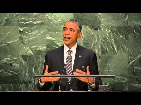 President Obama at 2030 Agenda for Sustainable Development Goals
