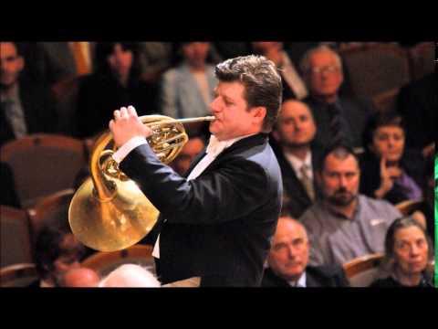 Giovanni Punto (Jan Václav Stich) Horn Concerto No.5 in F major, Radek Baborak