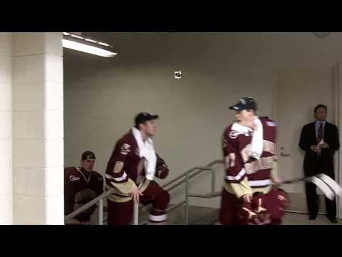 Boston College returns from the ice after winning 2010 national championship