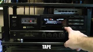 Pinch Roller Andruckrolle für Akai GX-75 MKII Tape Deck Cassette Deck