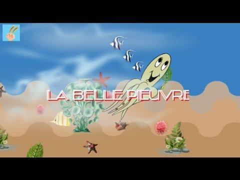 """""""La belle pieuvre  et le petit poisson"""" (glou glou glou )/ Chanson pour enfants"""