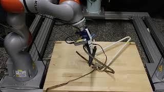 Disentangling on a robot