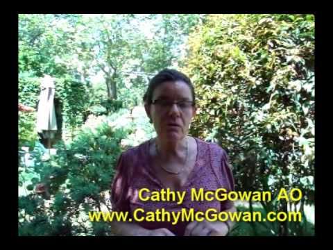 Cathy McGowan - Developing Women's Businesses program