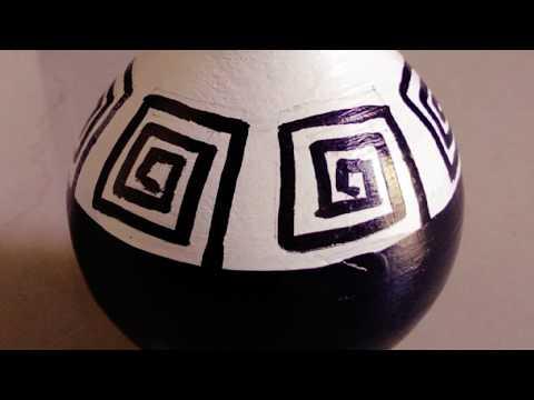 DIY clay pot painting | terracotta pot | home decor ideas