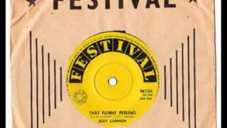 Judy Cannon - (Why Did I Tell You I Was Going To) Shanghai - 1961 - (B Side to