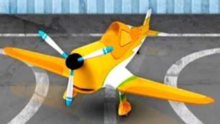 Build & Play 3d Sports Airplane Demo - Kids Machines App Puzzles [로보 카 폴리]