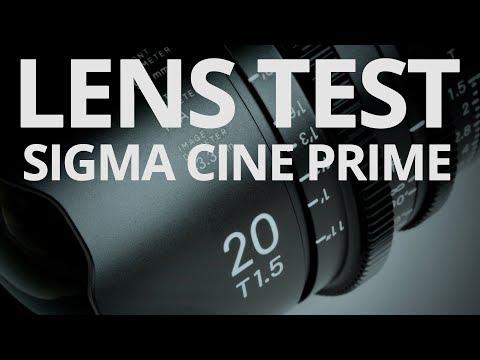 Sigma 20mm T15 Cine Prime - Lens Test 