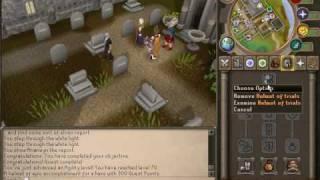 Helmet of trials - The Blood Pact Reward - Runescape