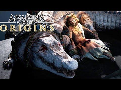 Assassin's Creed Origins Gameplay German #29 - Das Ende des Krokodil