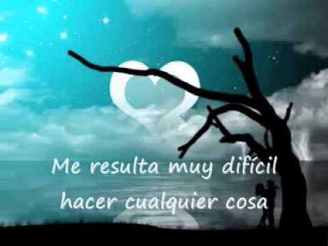 I can't smile without You letra en español