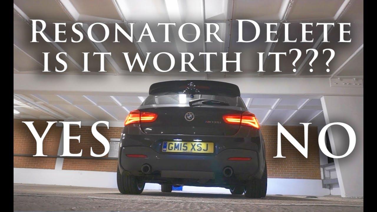 Dinan Exhaust Resonator Pipe Resonator Delete Kit BMW 2 Series M235i 14-16 New