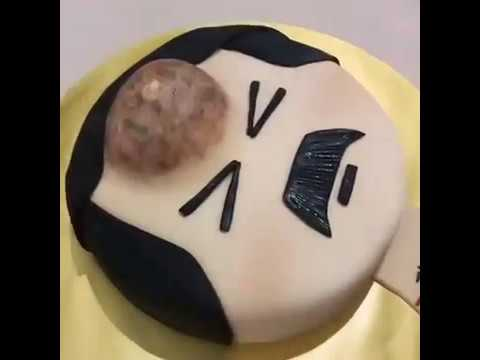 Pimple Popping Birthday Cake Youtube