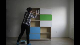 Building A Bookshelf From Scratch - Hide And Show Designed By Miriama Balažová