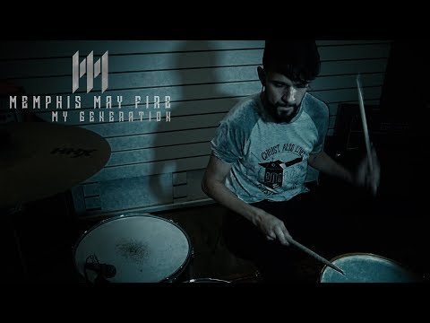Memphis May Fire - My Generation - Drum Cover