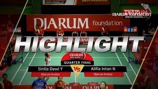 Sintia Dewi Y (Djarum Kudus) VS Alifia Intan N (Djarum Kudus)