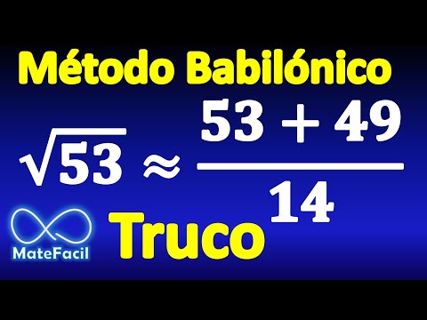 Calculating square root without calculator (Babylonian method) (Example 2)