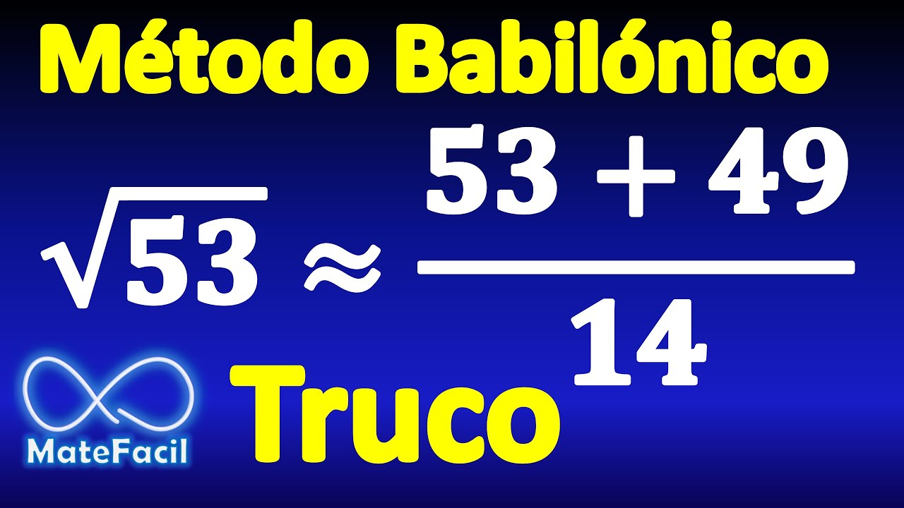Raiz Cuadrada De 79 Calculating Square Root Without Calculator Babylonian Method Example 2