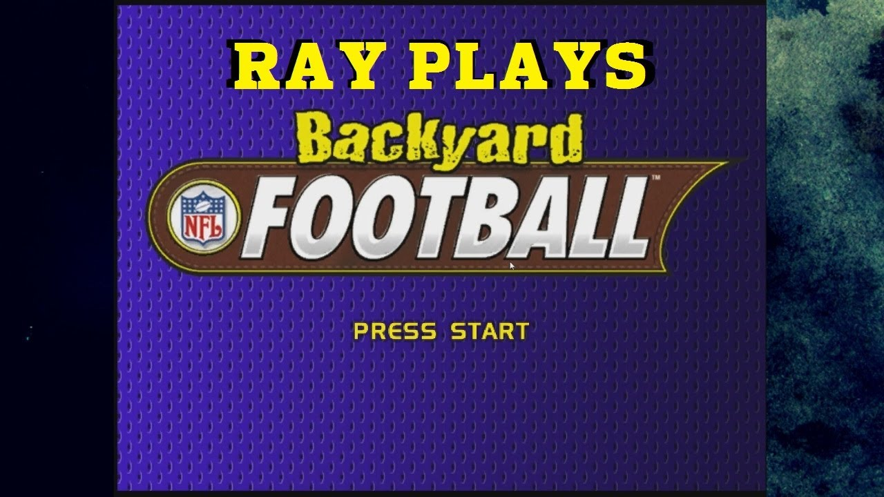 nfl backyard football with ray and erin youtube