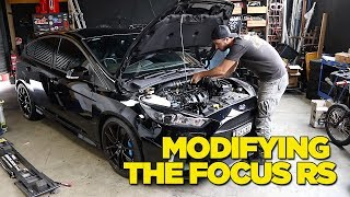 We start modifying our Focus RS that we built in Germany at the For...