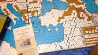 RISE AND DECLINE OF THE THIRD REICH boardgame unboxing