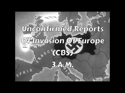 WW2 Radio News: D-Day (1944, Part 2)