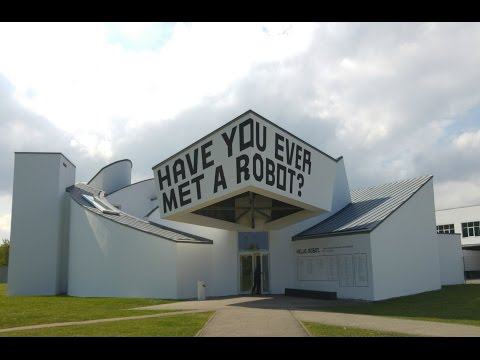 Vlog // Have you ever met a robot?  - Vitra Design Museum