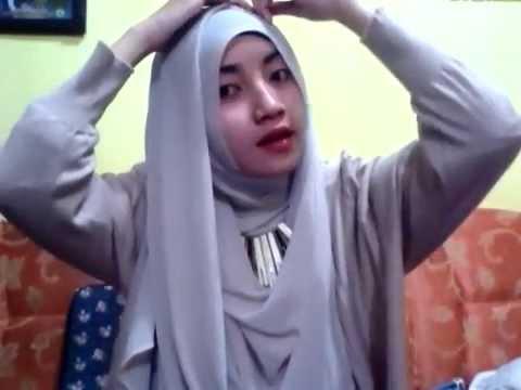 Tutorial Hijab Pashmina Sifon Ceruti Elegan By Wilda Uliarosa Youtube