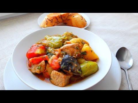 Овощное Рагу. Овощное Рагу с Мясом. Рагу. Рецепт и Правила Приготовления.Вкусное Овощное Рагу Рецепт