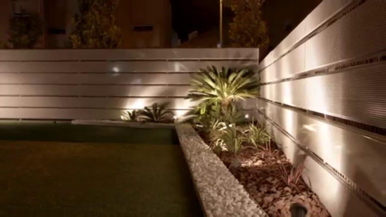 Dise o de exteriores iluminaci n nocturna tierra savbia Iluminacion de terrazas exteriores