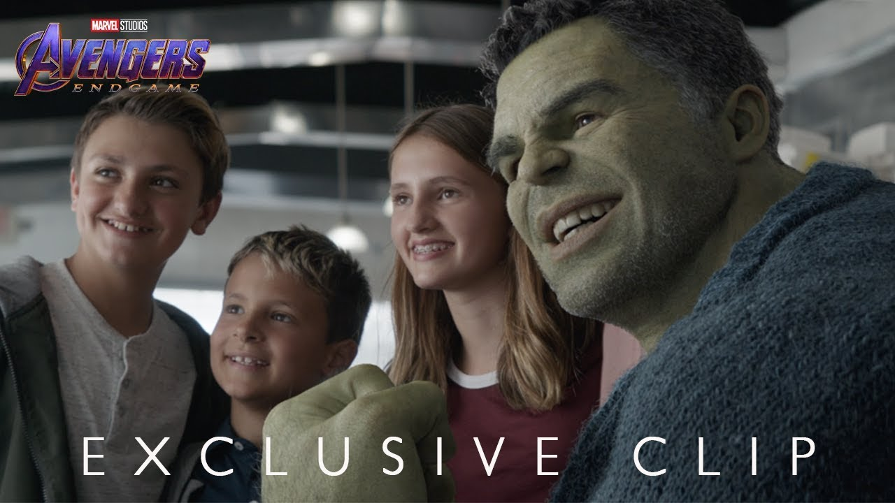 Marvel Studios    Avengers  Endgame      Hulk Out    Exclusive Clip