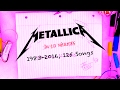 Download Metallica In 10 Minutes: 1983-2016, 125 Songs Covered MP3 song and Music Video