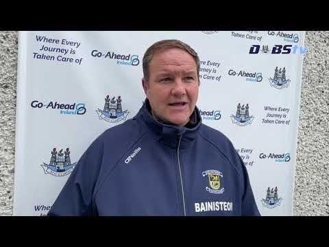 Kilmacud Crokes manager Robbie Brennan speaks to DubsTV following win over Castleknock