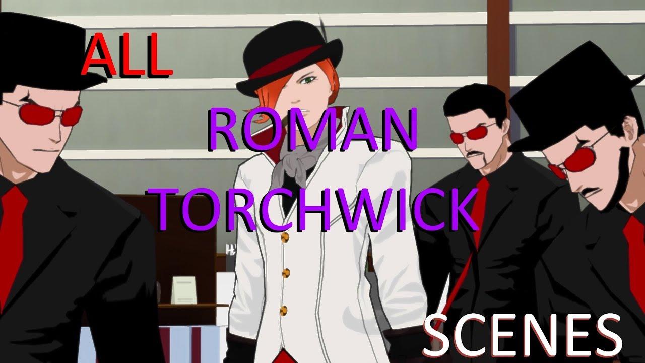RWBY: Roman Torchwick - All Scenes