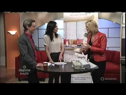 Ottawa Home Renovations Show Exhibitor Gotcha Covered featured on Rogers Daytime Ottawa