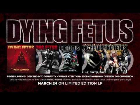 DYING FETUS - Vinyl Reissue Trailer