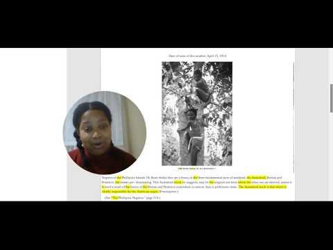 African American & Australian Aborigines Kinship (Proof)