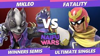 Naifu Wars 12 Winners Semis - T1 | MkLeo (Wolf) Vs. Fatality (Captain Falcon) SSBU Singles