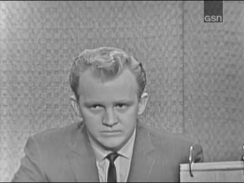 What's My Line?  Gary Crosby; Joey Bishop panel Mar 26, 1961