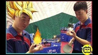 中国的乒乓球是这样玩的,老外不服不行呀!