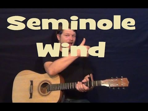 Seminole Wind John Anderson Em G D A Easy Beginner Strum