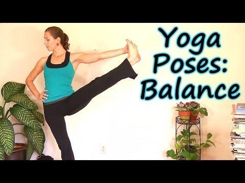 beginners yoga balances part 2 relaxing leg strength