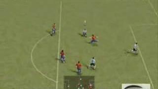 PES 2008 DEMO [PC] Gameplay - ARG vs ESP[1 Half]