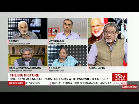 The Big Picture - Five Point agenda of India for talks with Pakistan: Will it cut ice?