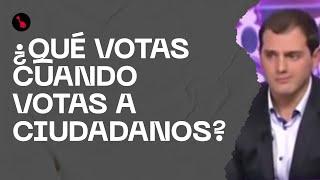 ¿Qué votas cuando votas a Cs? Radiografía del partido naranja