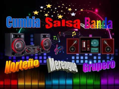Cumbia, Salsa, Banda, Grupera, Merengue, Norteña