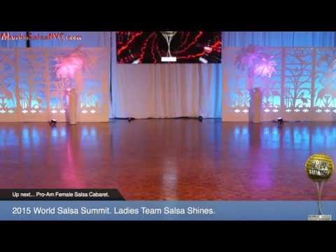 WSS15 Feb5. Ladies Team Salsa Shines Semi Final. REC 1080p.