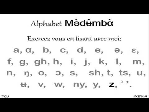 Medumba - Alphabet