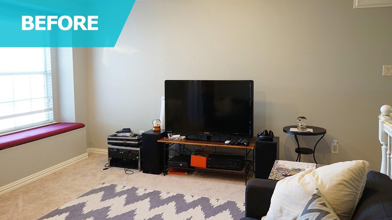 Ikea Usa Living Room Curtain Design Ideas For Small Bonus Makeover Home Tour Youtube